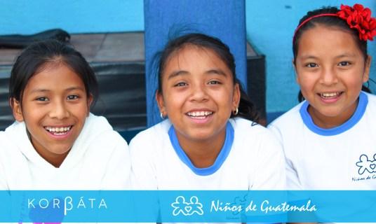 Korbata a beneficio de organización niños de Guatemala