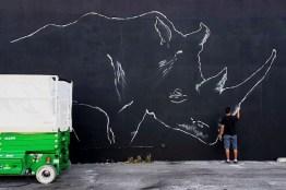 rinoceronte miami art basel 16 3 - El arte urbano de Spaint se luce en Miami
