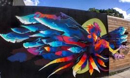 El arte urbano de Spaint se luce en Miami