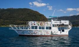 Disfruta de un viaje en el Crucero de Atitlán