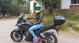 "foto 4 rocio aguilar - Perla Aguilar: ""Mi meta es representar a Guatemala en motociclismo"""