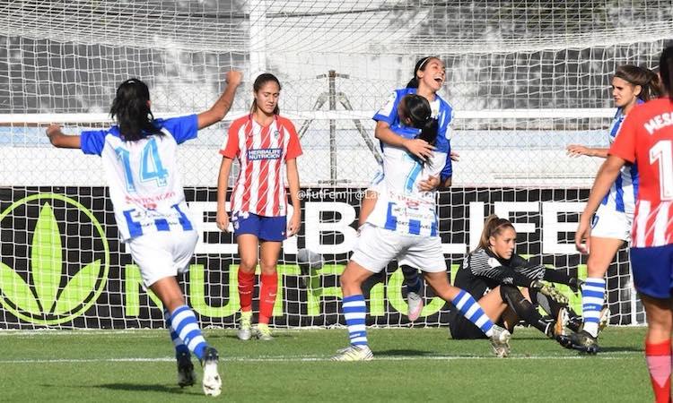 ana lucia martinez 4 - De jugar fútbol en el Campo Marte a destacar en las canchas de España