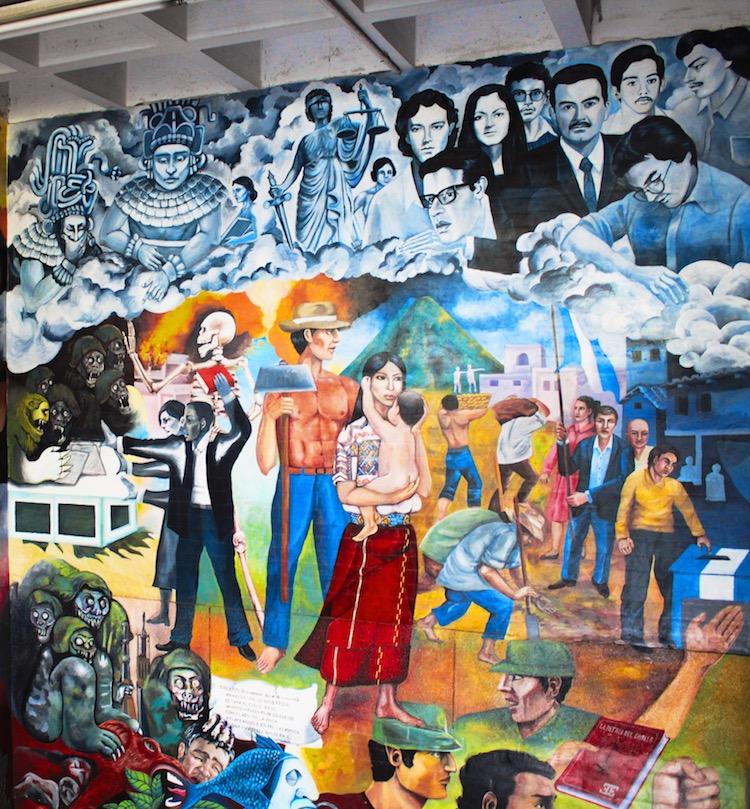 la justicia - Murales que cuentan la historia del país