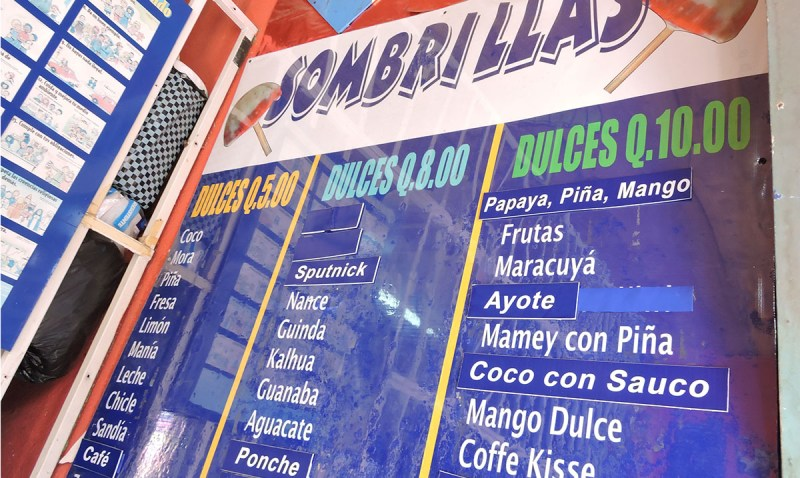 Imagina los sabores de Guatemala en un helado