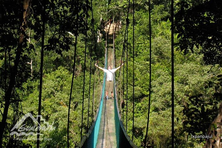 ixpanpajul - 10 Lugares que conocer en Petén