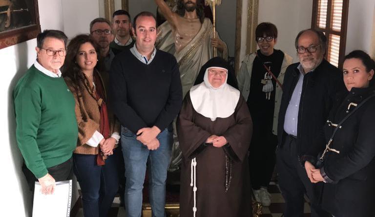 Algeciras ya tiene Resucitado para esta Semana Santa