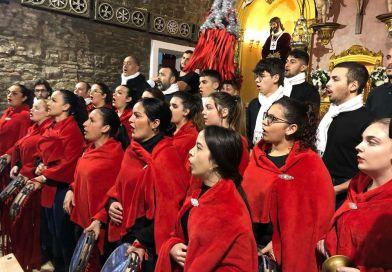 La rondalla «Los Aldeanos» hace su presentación ante el Medinaceli y la Esperanza