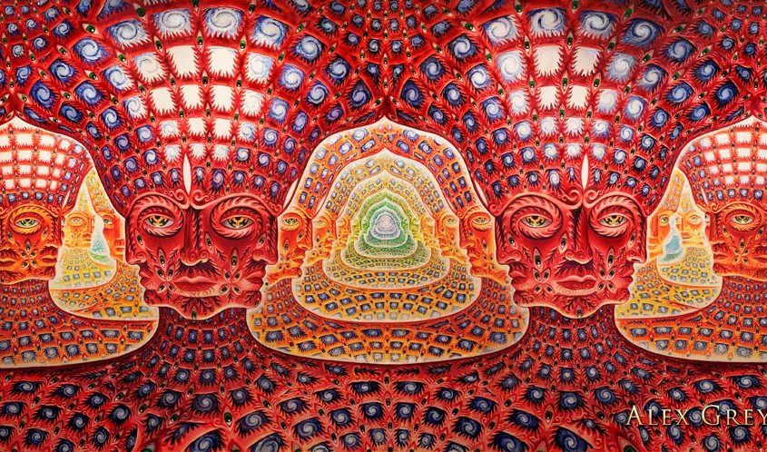 Net of Being – Alex Grey