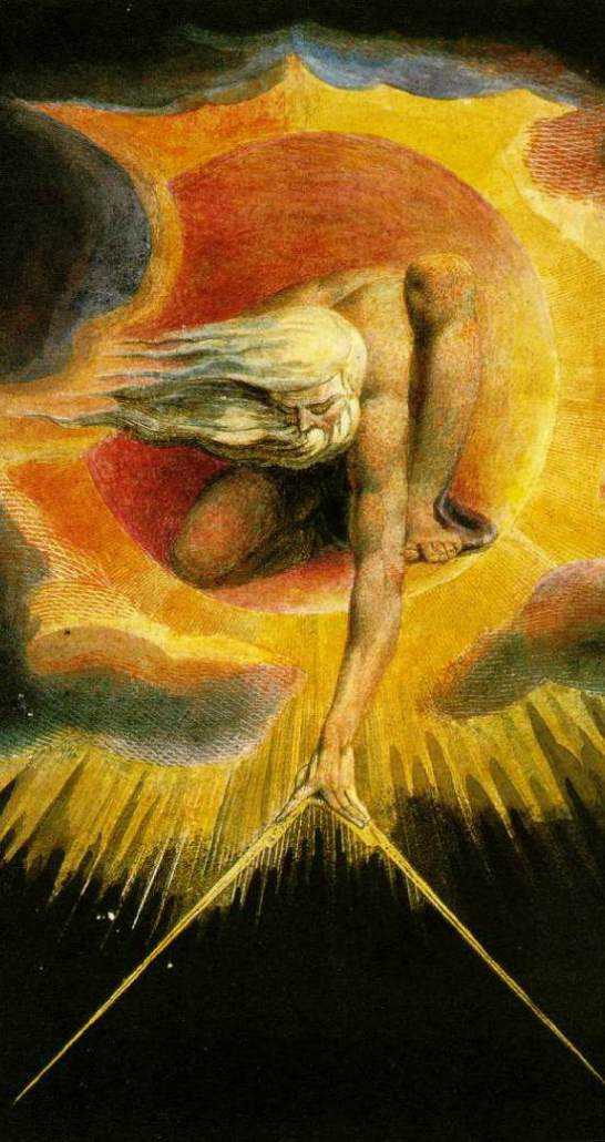"""The Ancient of Days"" por William Blake"