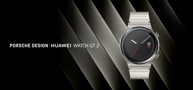 Huawei anuncia fone de ouvido FreeBuds Studio e smartwatch Porsche Design Watch GT 2