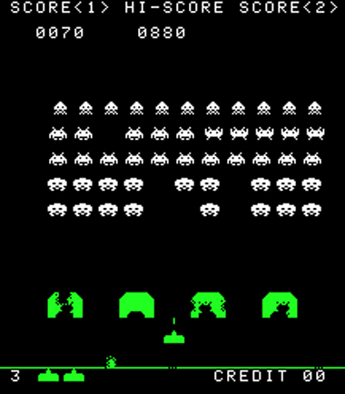 SpaceInvaders-Gameplay
