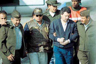 Miguel Rodriguez Orejuela captura 1995