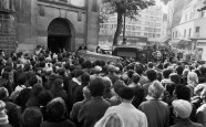 Funeral of Jacques Mesrine - 1979
