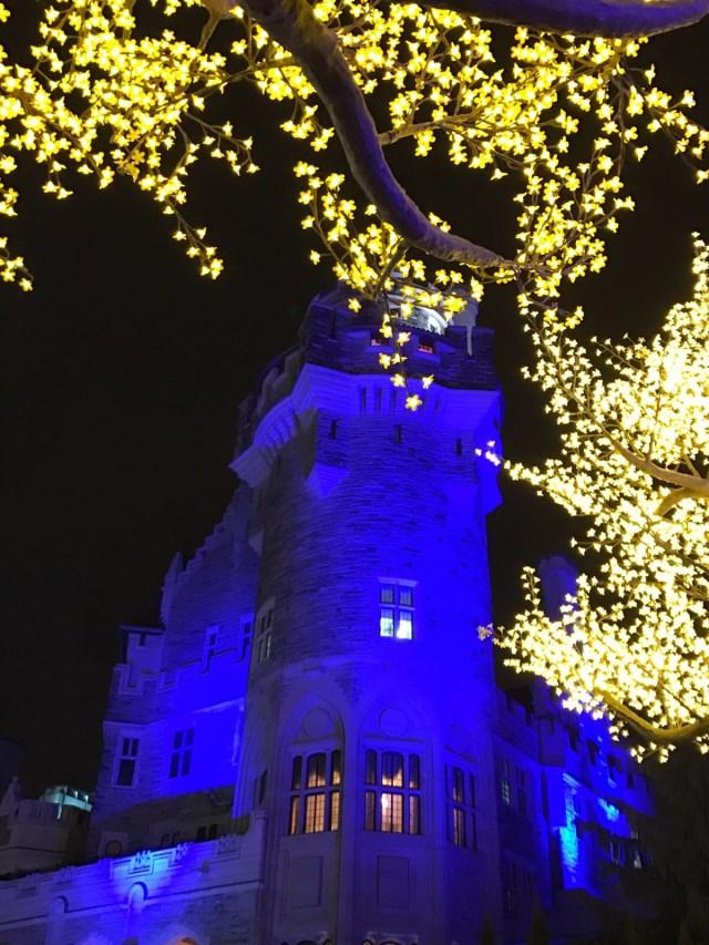 Casa Loma no Natal