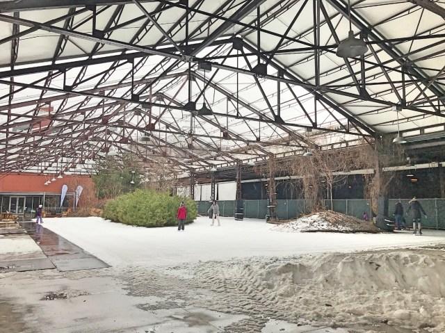 Evergreen pista de patinação Toronto