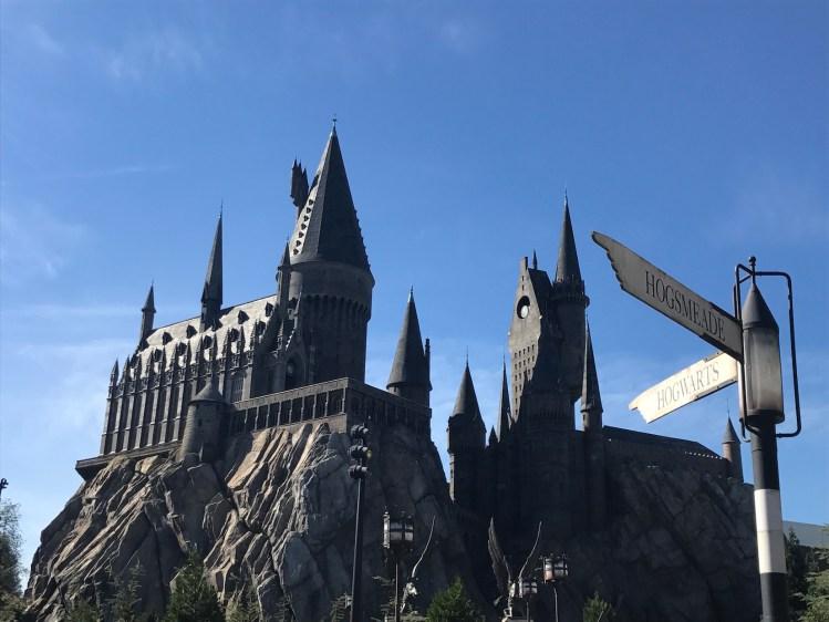 Castelo de Hogwarts - Island Adventure