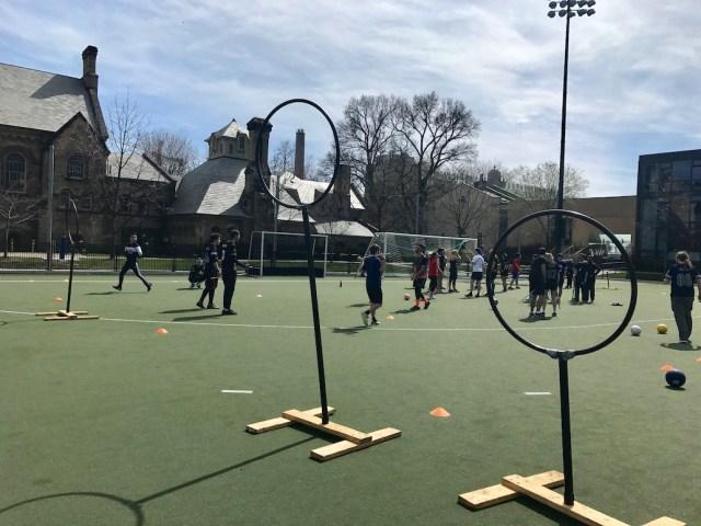 Jogo de Quadribol em Toronto