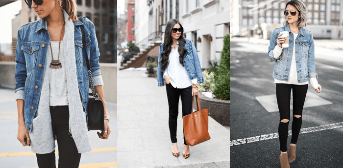 Look Autumn Jeans Jacket