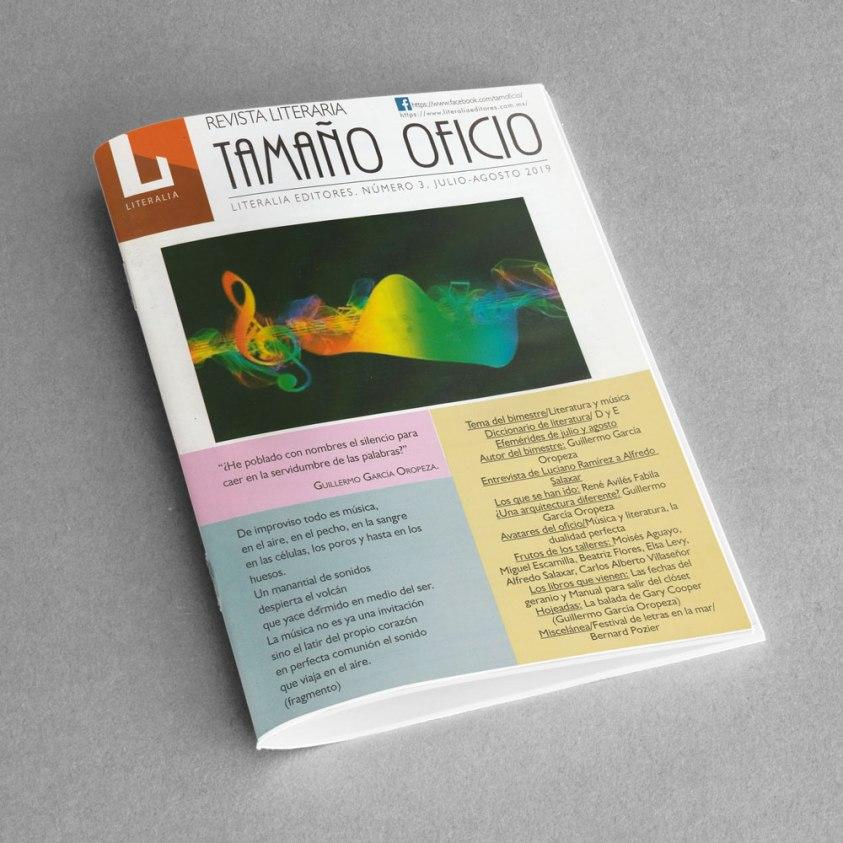 Revista Literaria Tamaño Oficio, Num. 3