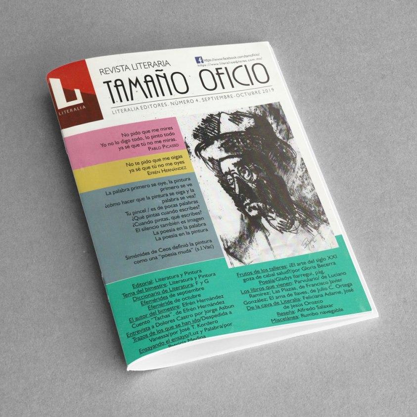 Revista Literaria Tamaño Oficio, Num. 4