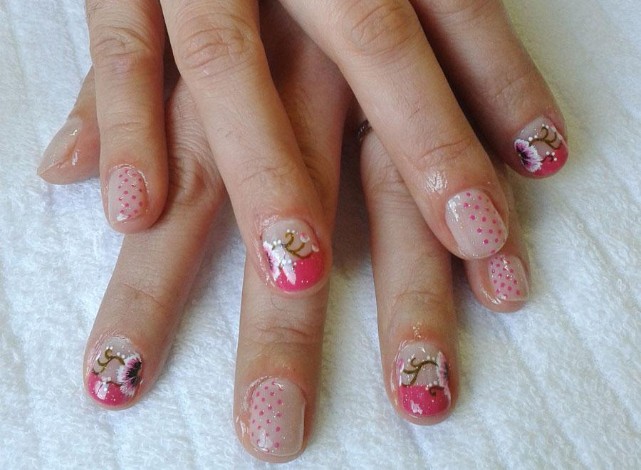Nail Art para a primavera