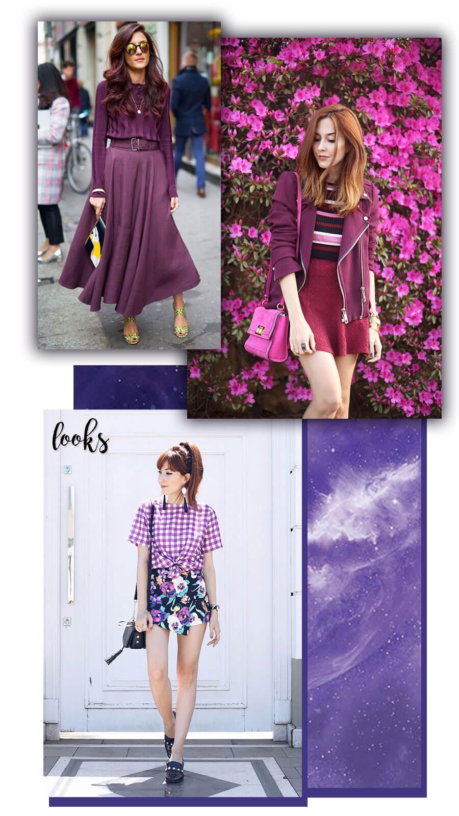 Ultra Violeta Looks