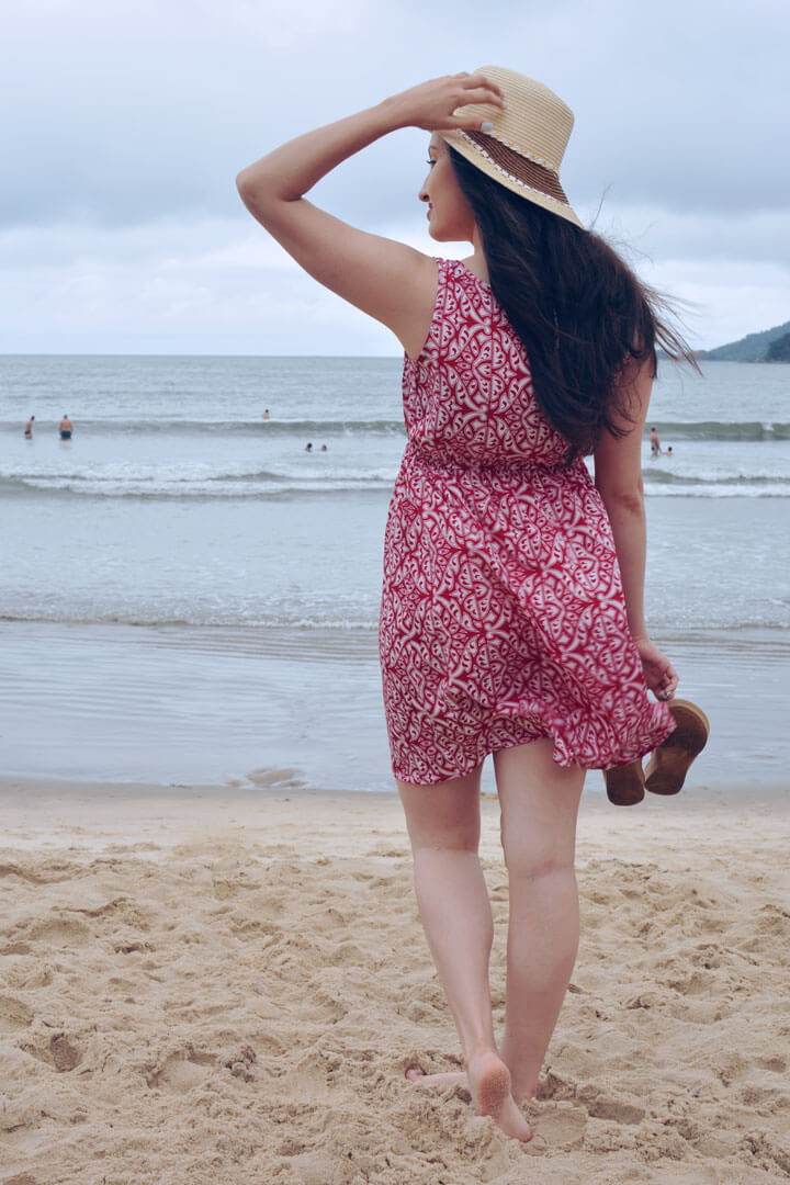 Vestido Praia Verão