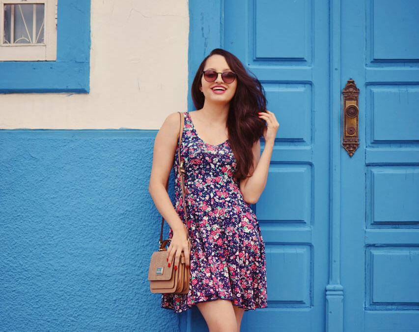 Look de Verão Florido