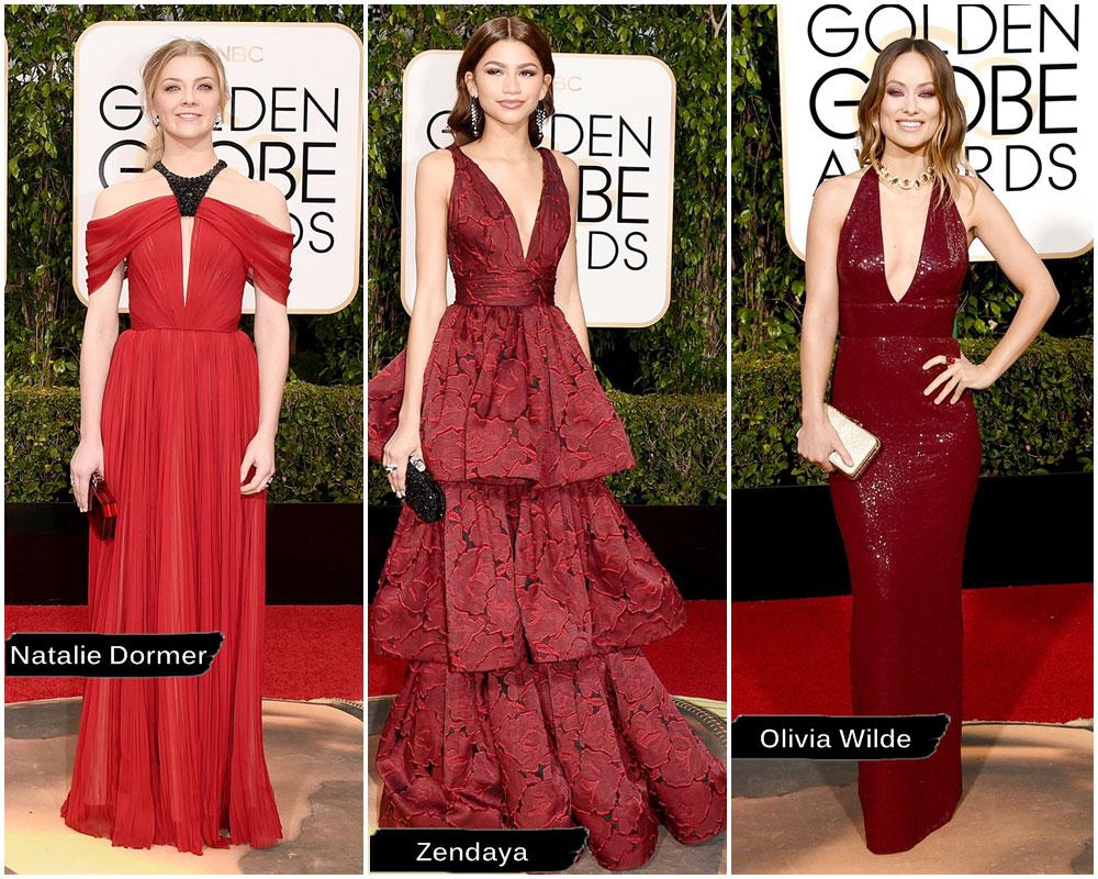 Golden Globe Vermelho/Vinho