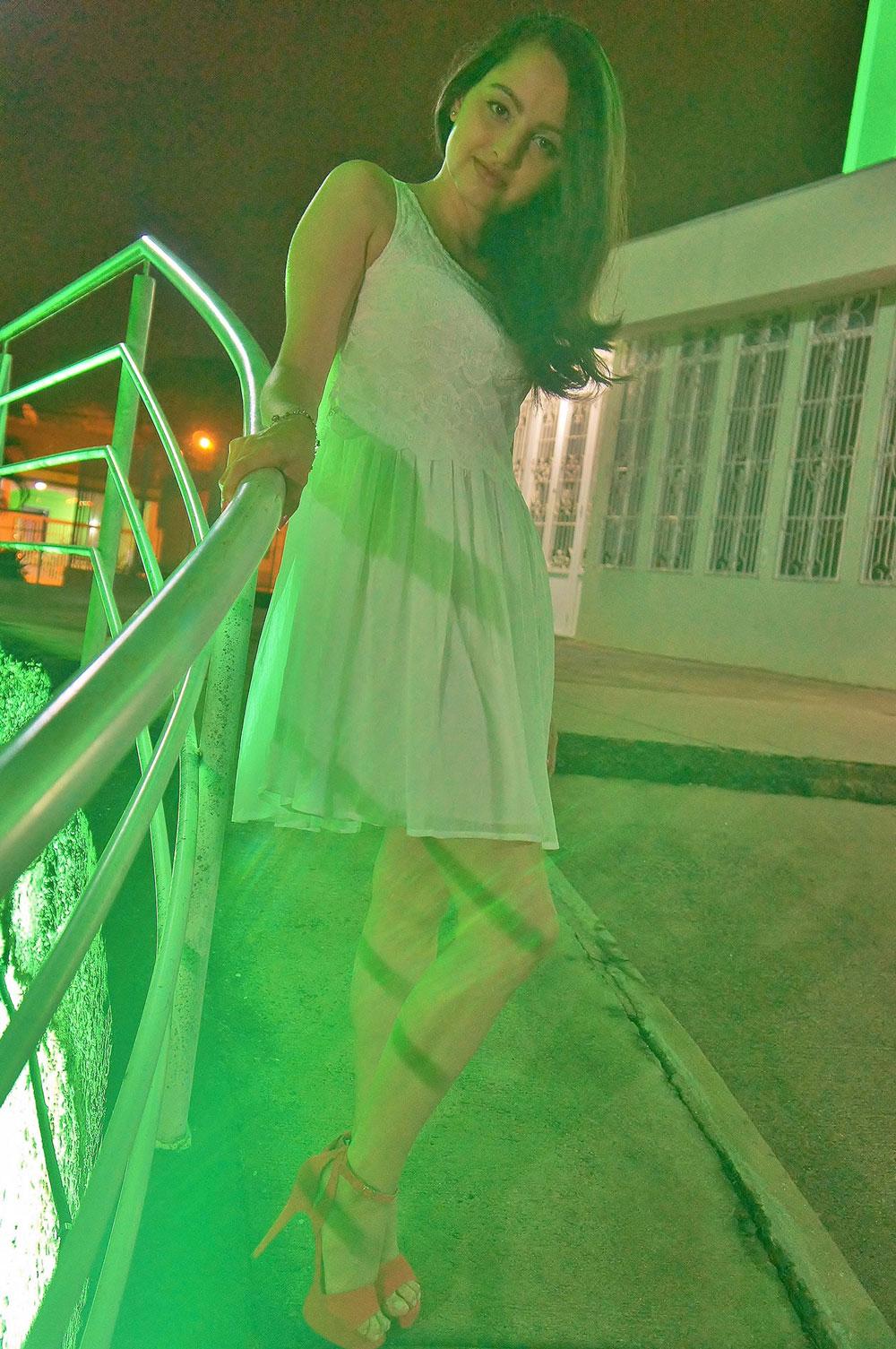 Look Vestido Branco 2016