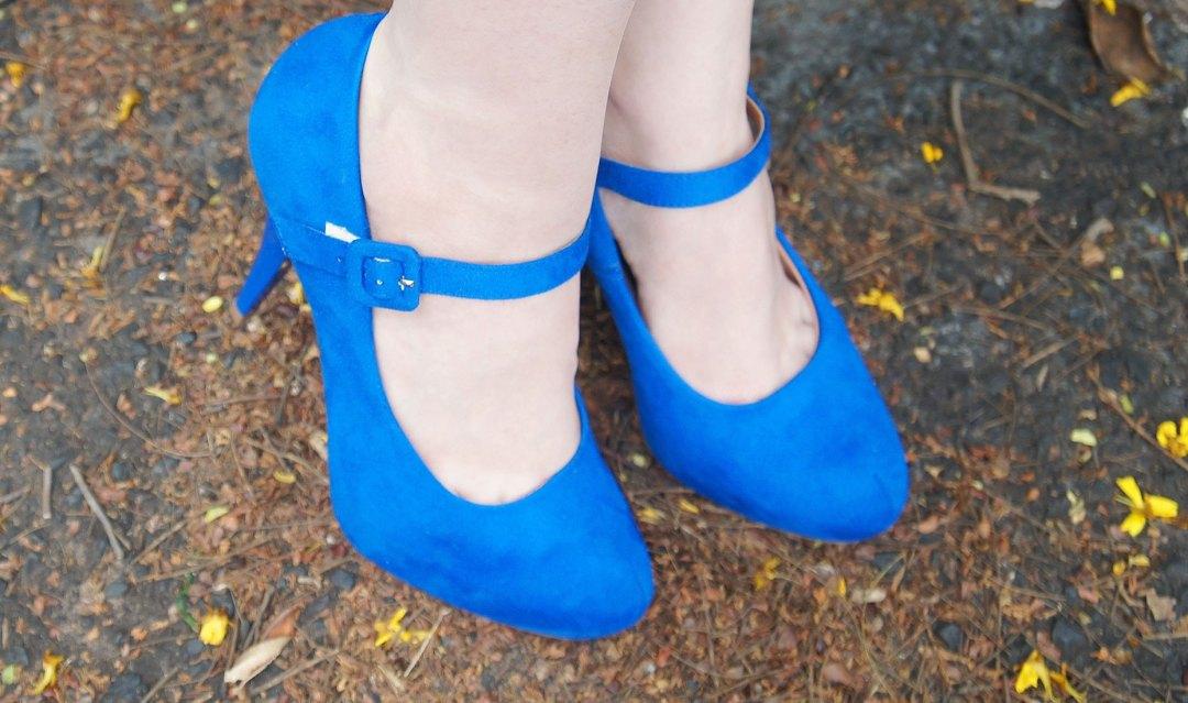 Sapato Azul Vizzano