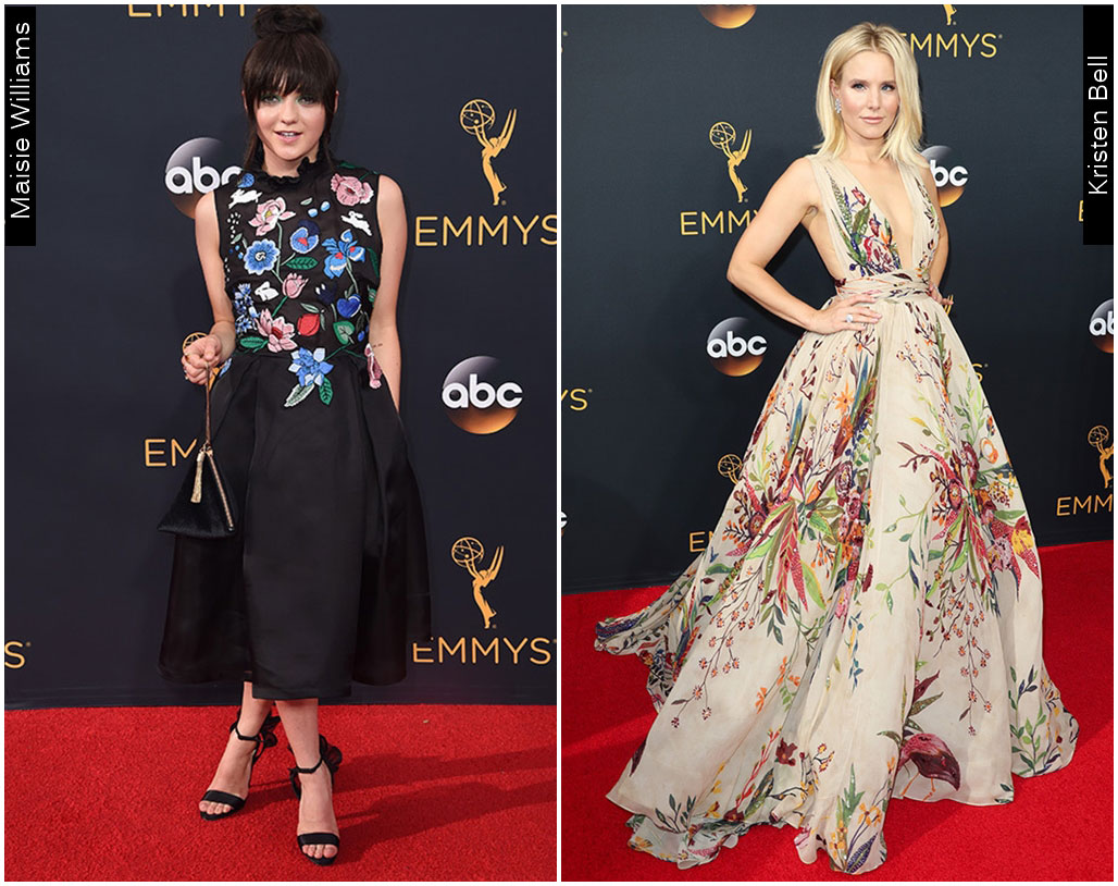 Red Carpet Emmys 2016 Massie Williams Kristen Bell