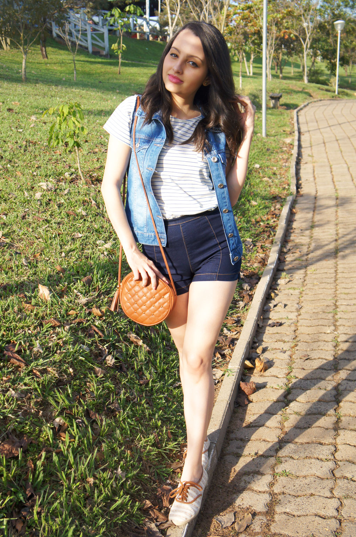 Look do Dia Confortável Jeans Verão