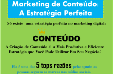 MARKETING DE CONTEÚDO – A ESTRATÉGIA PERFEITA