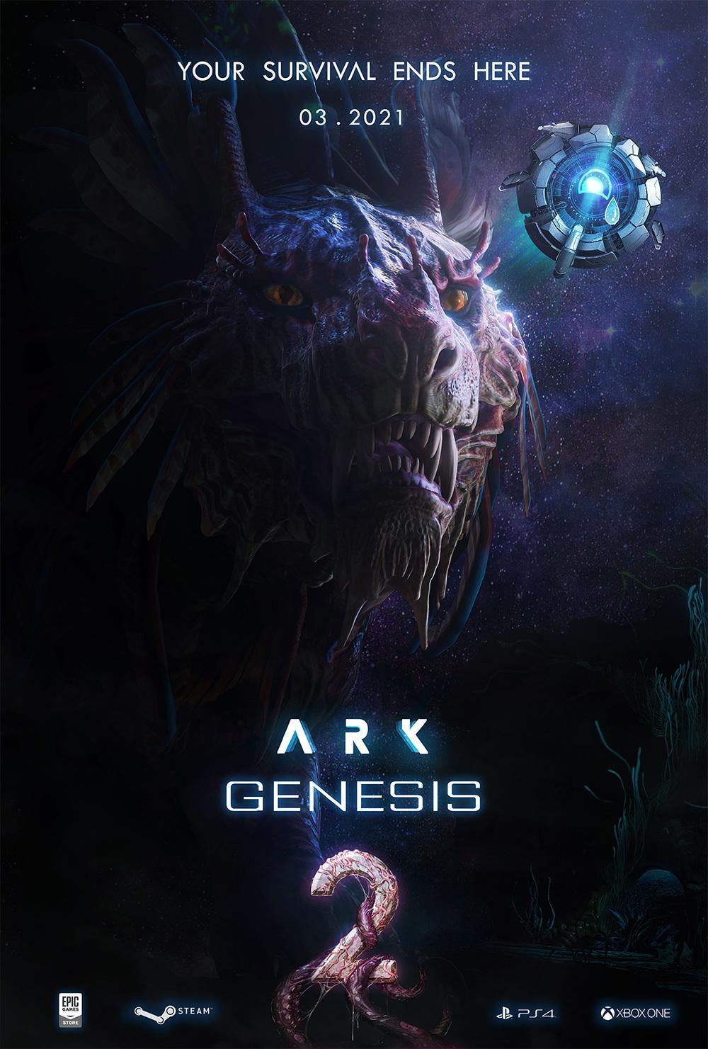 ジェネシス ps4 Ark