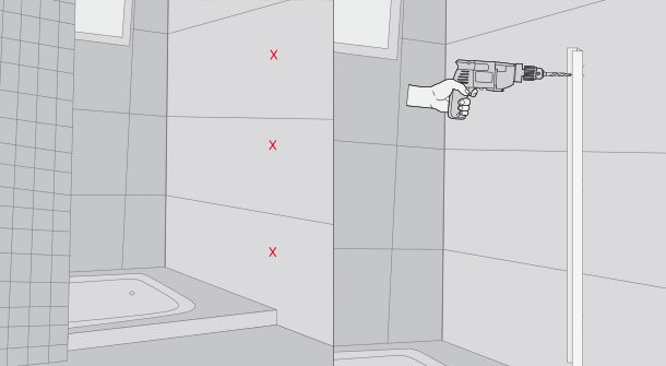 Instalación de mampara de baño