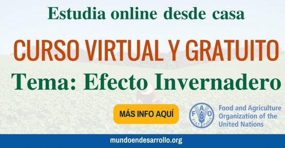 curso en línea gratuito Efecto Invernadero