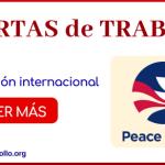 trabajar en peace corps