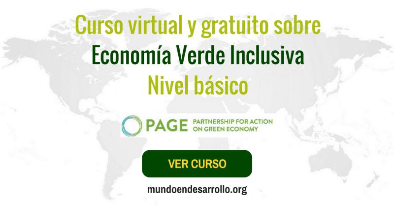 Curso virtual y gratuito sobre Economía Verde