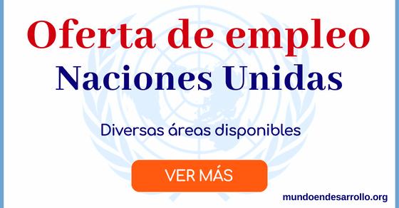 Ofertas de empleo en Naciones Unidas