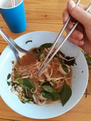 environmentally friendly chopsticks in buengkan