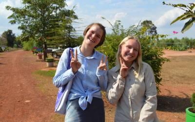 From the Field: Emily at Kamplafa School
