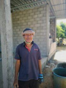 portrait of builder