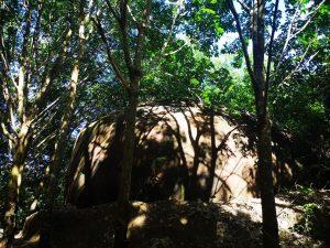 photos of buengkan large rock formations