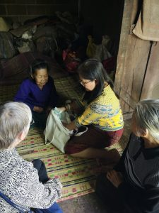 thailand elders and care packages Pa Ruay and Suwannee