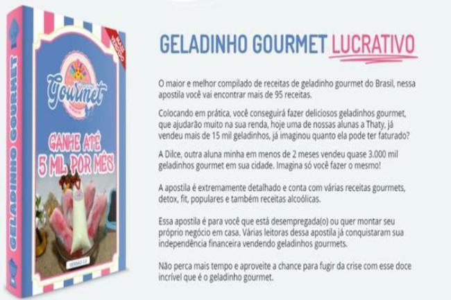 como fazer geladinho gourmet 300x200 - Curso de Geladinho faça receitas deliciosas