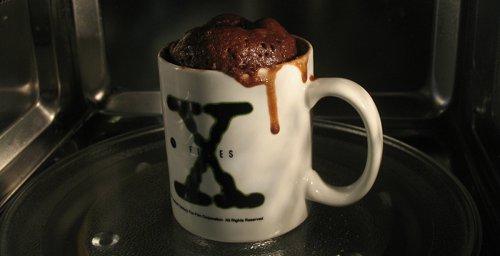 Brownie peligrosamente cerca de desbordarse