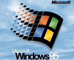 Logo de Windows 95