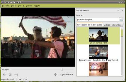 Ver los v�deos de YouTube en Totem