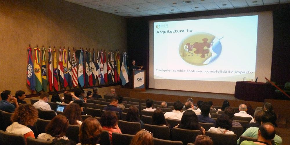 Finaliza5JornadaGVSIGws Finalizó las 5as Jornas de Latinoamérica y Caribe gvSIG en Argentina